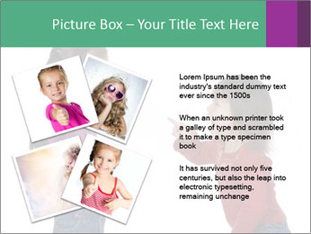 Two Girls Yelling PowerPoint Template - Slide 23