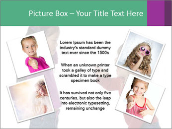 Two Girls Yelling PowerPoint Template - Slide 24