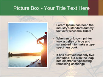 Mysterious River During Sunset PowerPoint Template - Slide 13