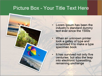Mysterious River During Sunset PowerPoint Template - Slide 17
