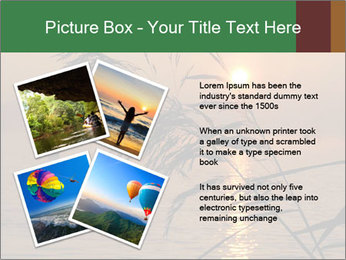 Mysterious River During Sunset PowerPoint Template - Slide 23