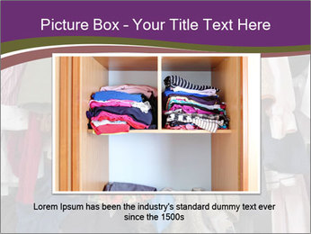 Overfilled Wardrobe PowerPoint Template - Slide 15