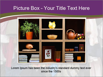 Overfilled Wardrobe PowerPoint Templates - Slide 16
