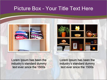 Overfilled Wardrobe PowerPoint Templates - Slide 18