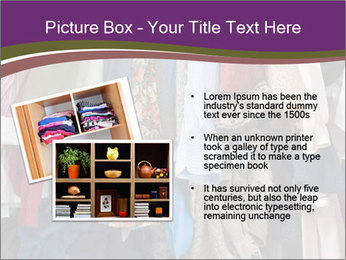Overfilled Wardrobe PowerPoint Templates - Slide 20