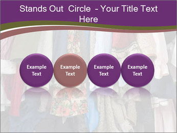 Overfilled Wardrobe PowerPoint Templates - Slide 76