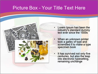 Containers With Colors PowerPoint Template - Slide 20