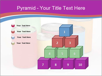 Containers With Colors PowerPoint Template - Slide 31