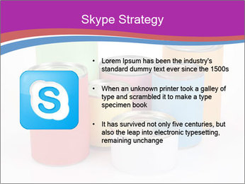 Containers With Colors PowerPoint Template - Slide 8