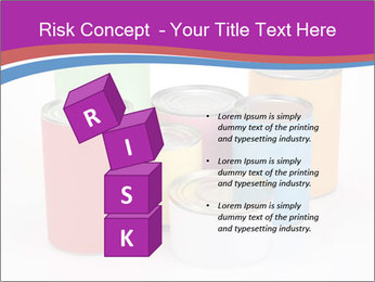 Containers With Colors PowerPoint Template - Slide 81