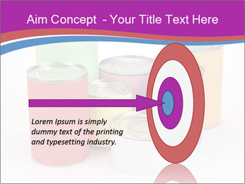 Containers With Colors PowerPoint Template - Slide 83