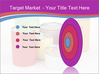 Containers With Colors PowerPoint Template - Slide 84