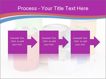 Containers With Colors PowerPoint Template - Slide 88