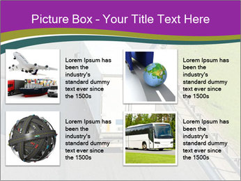 Truck On Road PowerPoint Template - Slide 14