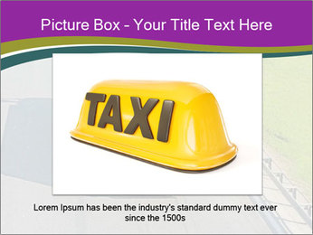 Truck On Road PowerPoint Template - Slide 15