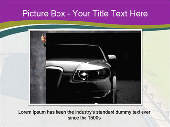 Truck On Road PowerPoint Template - Slide 16