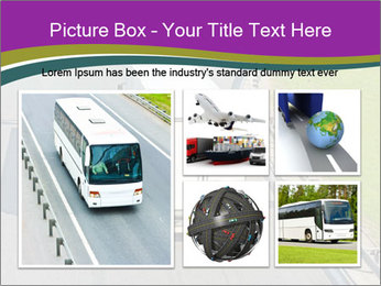 Truck On Road PowerPoint Template - Slide 19