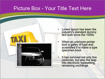 Truck On Road PowerPoint Template - Slide 20