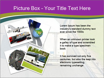 Truck On Road PowerPoint Template - Slide 23