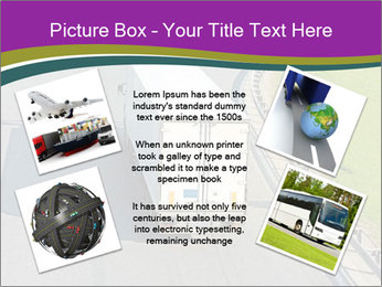 Truck On Road PowerPoint Template - Slide 24