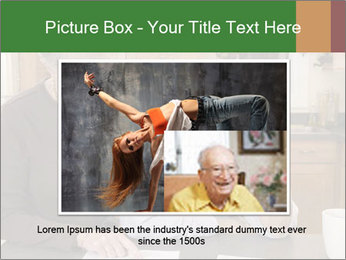 Frustrated Grandfather PowerPoint Templates - Slide 16