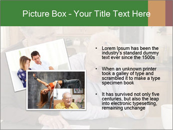 Frustrated Grandfather PowerPoint Template - Slide 20