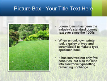 House And Green Lawn PowerPoint Template - Slide 13