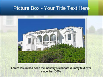 House And Green Lawn PowerPoint Templates - Slide 15