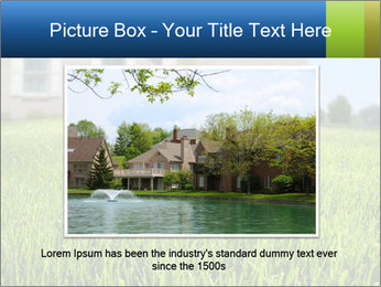 House And Green Lawn PowerPoint Template - Slide 16