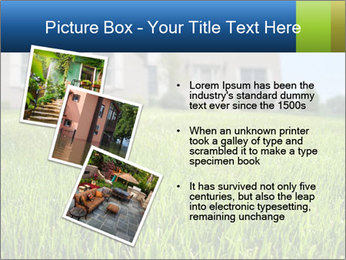House And Green Lawn PowerPoint Template - Slide 17
