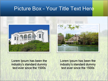 House And Green Lawn PowerPoint Templates - Slide 18