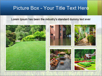 House And Green Lawn PowerPoint Template - Slide 19