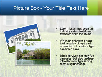 House And Green Lawn PowerPoint Templates - Slide 20