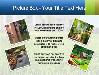 House And Green Lawn PowerPoint Template - Slide 24