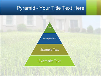 House And Green Lawn PowerPoint Templates - Slide 30
