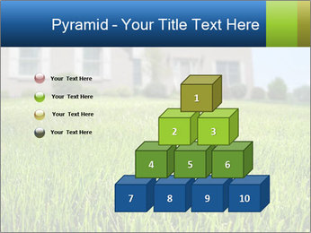 House And Green Lawn PowerPoint Templates - Slide 31