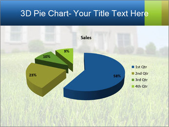 House And Green Lawn PowerPoint Template - Slide 35