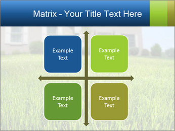 House And Green Lawn PowerPoint Templates - Slide 37