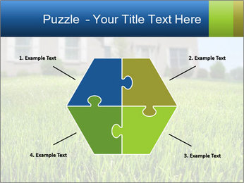House And Green Lawn PowerPoint Templates - Slide 40