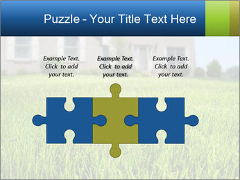 House And Green Lawn PowerPoint Templates - Slide 42
