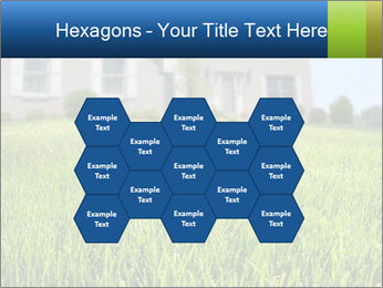 House And Green Lawn PowerPoint Template - Slide 44