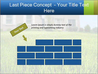 House And Green Lawn PowerPoint Template - Slide 46