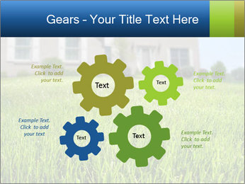 House And Green Lawn PowerPoint Templates - Slide 47