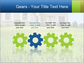 House And Green Lawn PowerPoint Templates - Slide 48