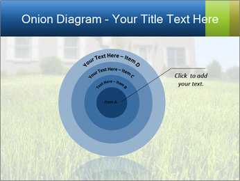 House And Green Lawn PowerPoint Template - Slide 61