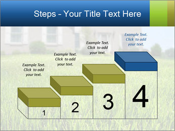 House And Green Lawn PowerPoint Template - Slide 64