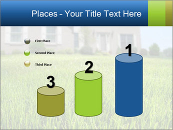 House And Green Lawn PowerPoint Template - Slide 65