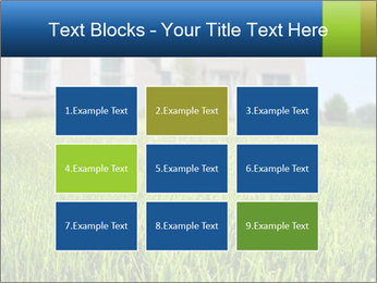 House And Green Lawn PowerPoint Templates - Slide 68