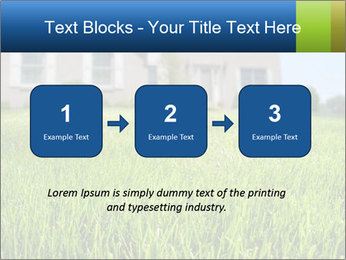 House And Green Lawn PowerPoint Templates - Slide 71