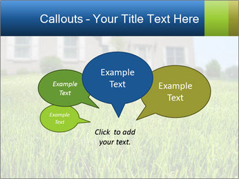 House And Green Lawn PowerPoint Templates - Slide 73